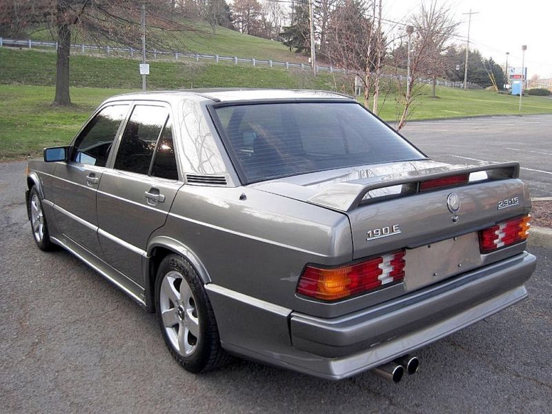 1986 mercedes 190e 2 3 16v with 58k german cars for sale for Mercedes benz 190e 2 3 16 for sale