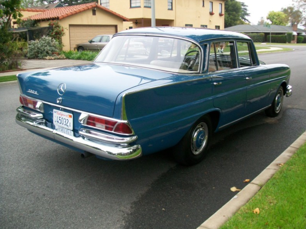 1966 mercedes benz 230s german cars for sale blog for Mercedes benz used cars in germany for sale