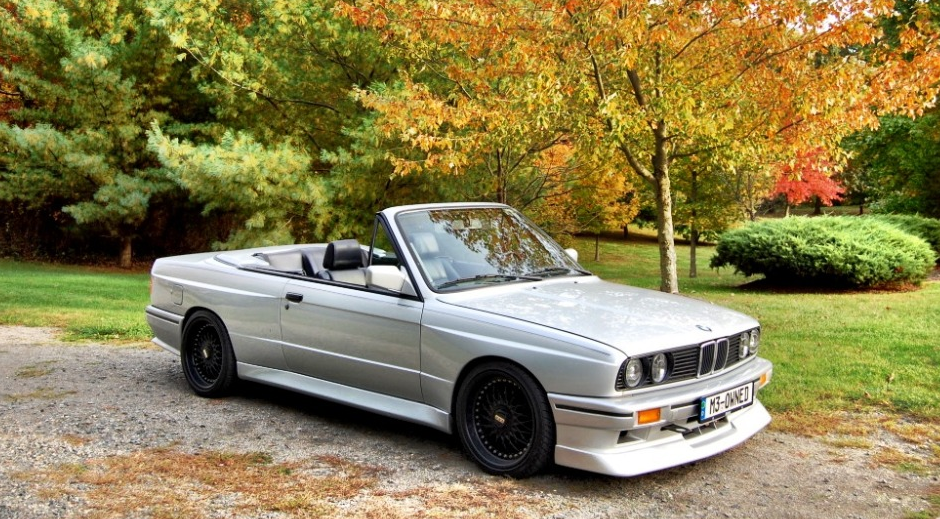1990 E30 Cabrio With M3 Body German Cars For Sale Blog