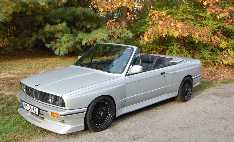 1990 Bmw 325i Cabriolet With M3 Body For On Ebay