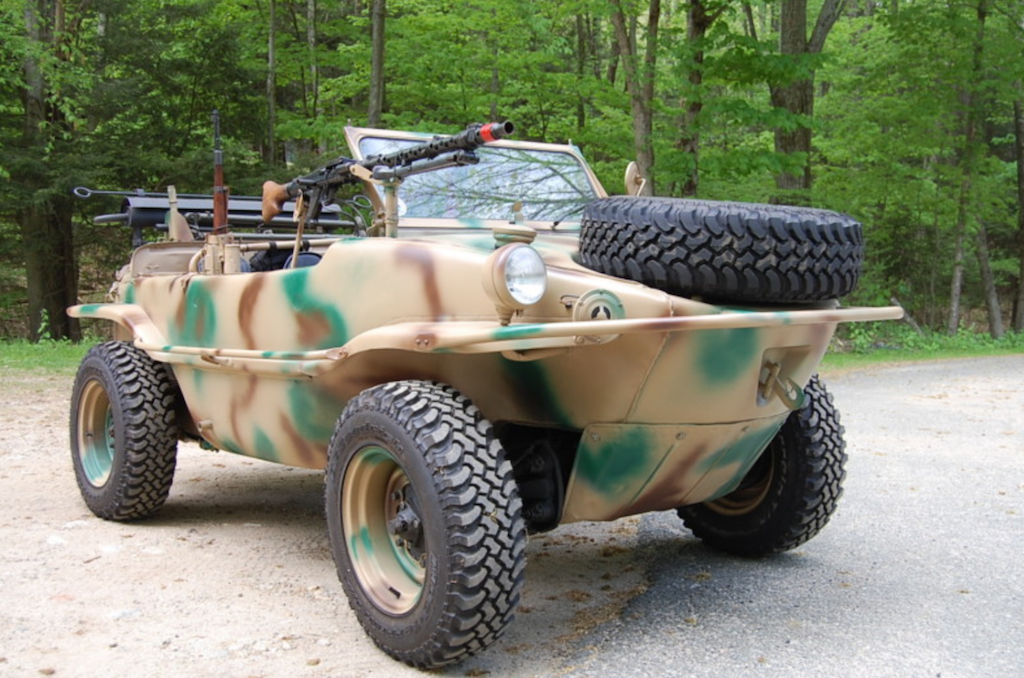 Military Vehicles For Sale >> 1943 Volkswagen Schwimmwagen - REVISIT | German Cars For Sale Blog