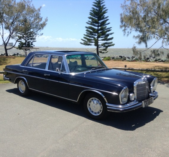 1967 Mercedes 300SEL 3.5 test car