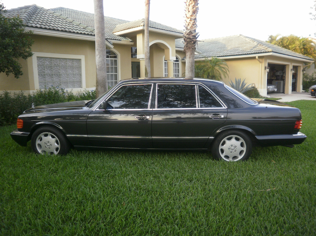 1987 mercedes benz 560sel german cars for sale blog for Mercedes benz nc