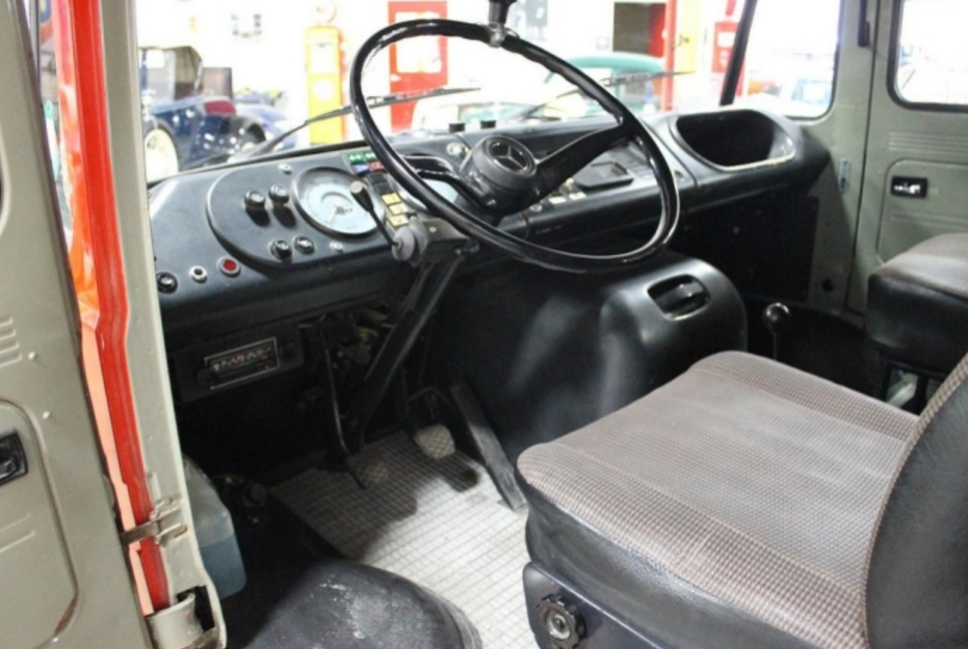 0a15b79beb Here is essentially a once in a lifetime opportunity to own (and operate)  and authentic piece of German history. This 1974 Mercedes-Benz 408 Quad Cag  was ...