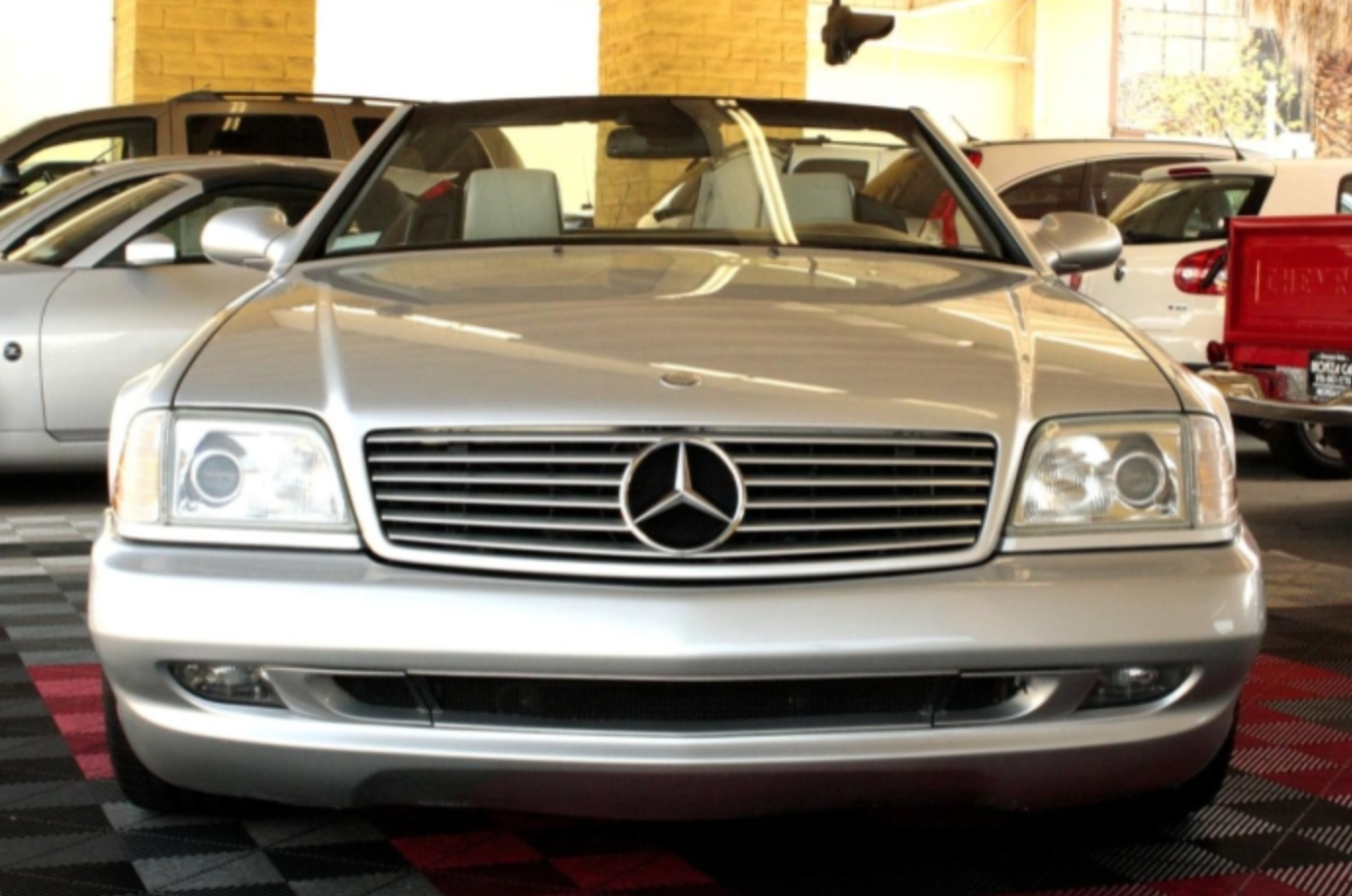 2002 Mercedes Benz Sl500 Silver Arrow German Cars For