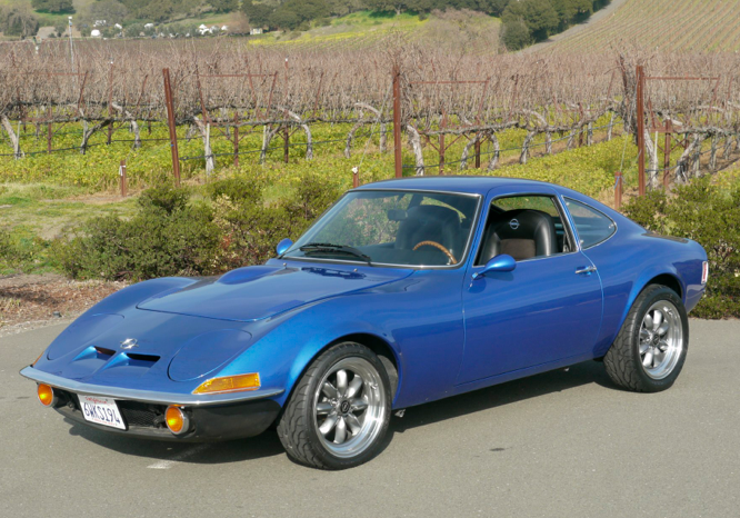 1972 Opel Gt German Cars For Sale Blog
