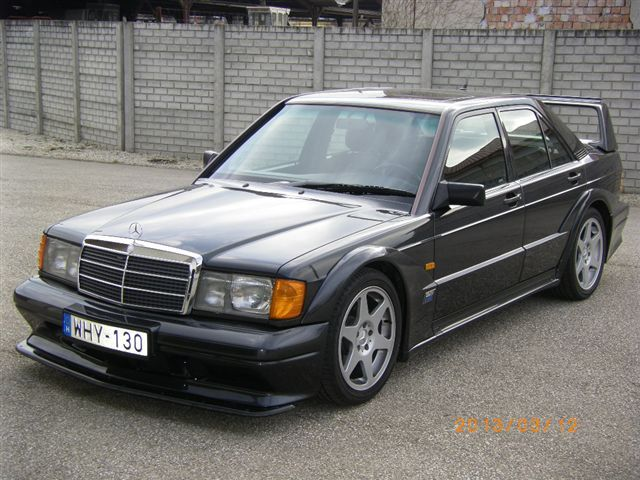 1990 Mercedes Benz 190e 2 5 16 Evolution Ii German Cars