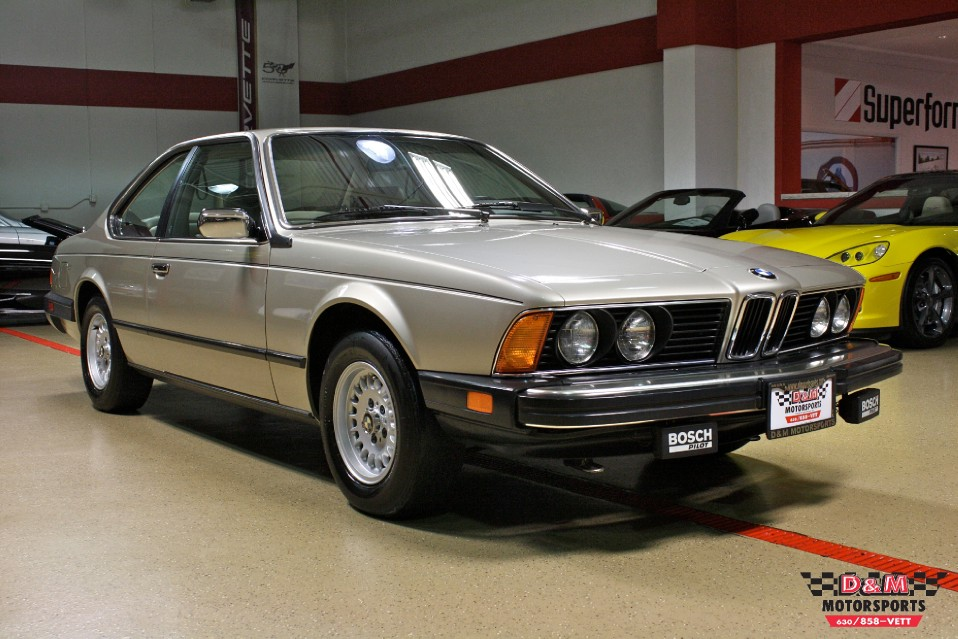 1984 Bmw 633csi With 22 425 Original Miles German Cars