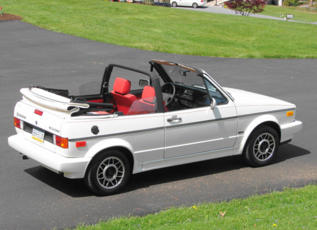 You Are Bidding On A 1988 Volkswagen Cabriolet 4 Cylinder Fuel Injected 5 Sd Manual Air Condition Cruise Control Am Fm Cd Radio
