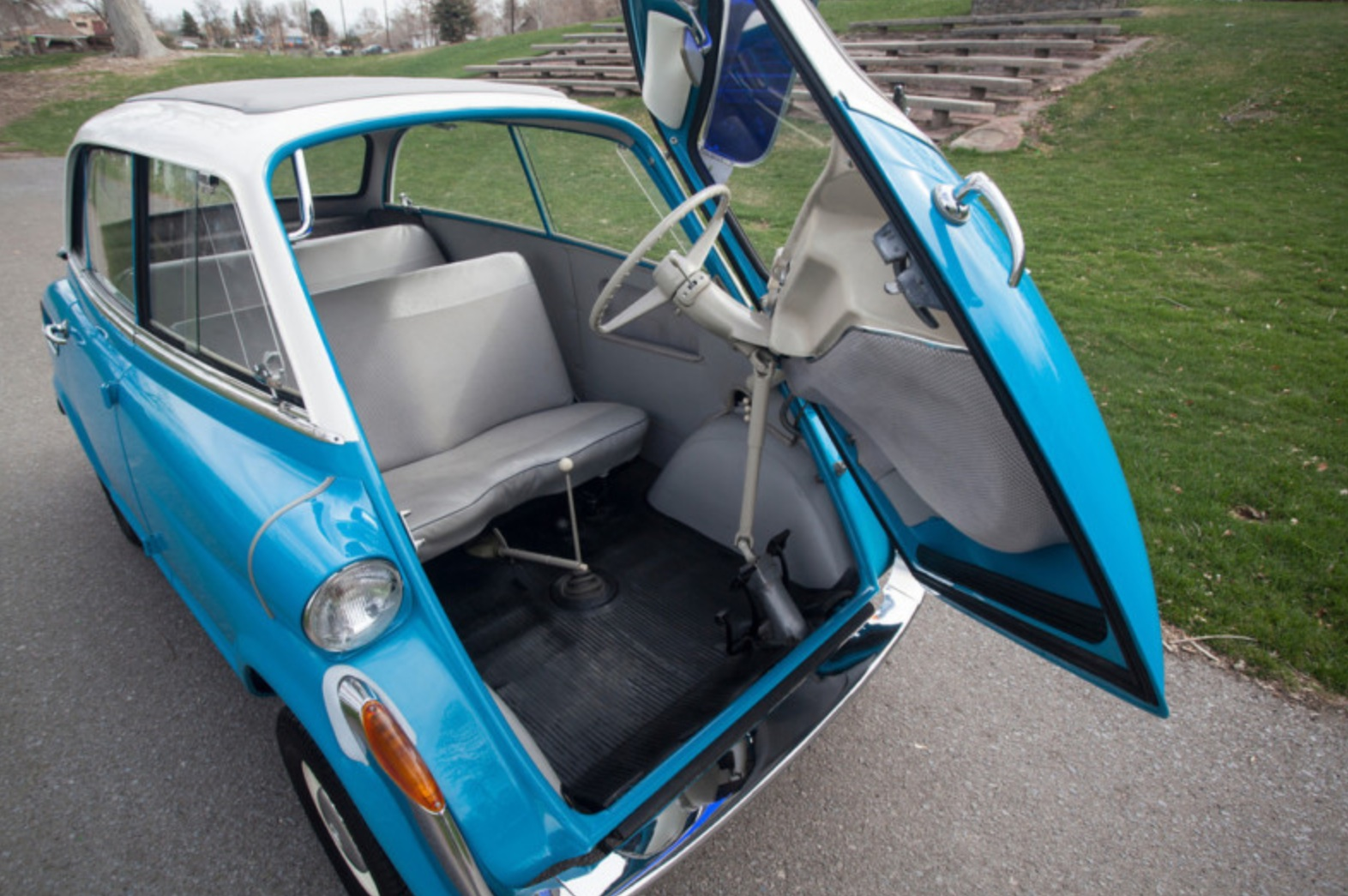 Like The Amphicar And Volkswagen Bus Bubble Cars Have Become More Valuable Than One Would Think At First Some Well Red Isettas Brought Strong