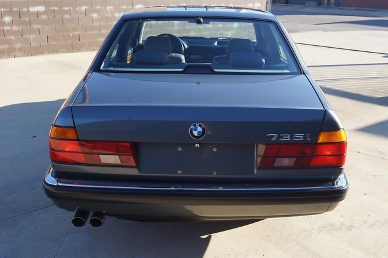 1988 BMW 735i 5-speed manual – German Cars For Sale Blog