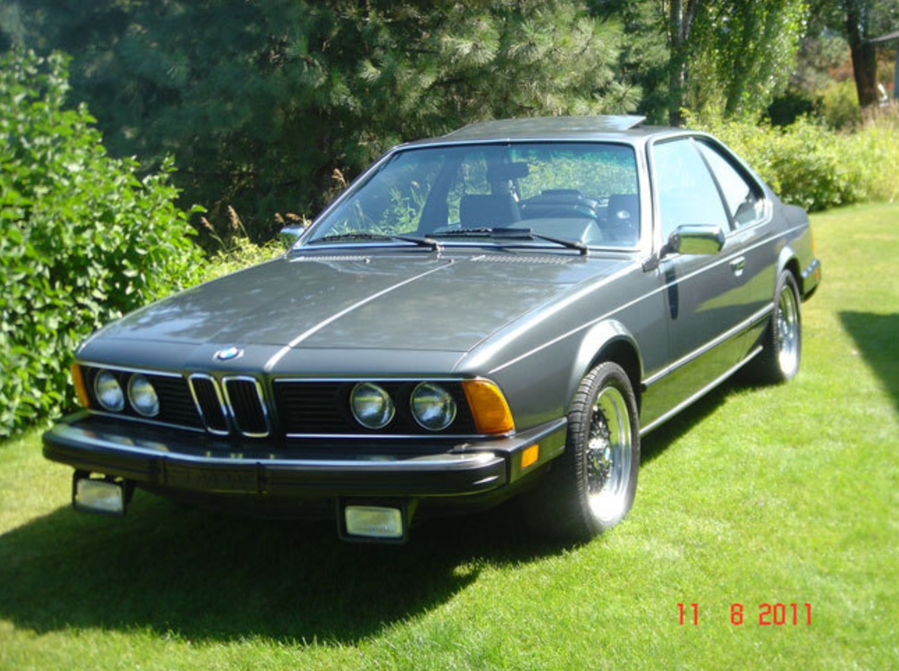 Shark Week 1983 Bmw 633csi German Cars For Sale Blog