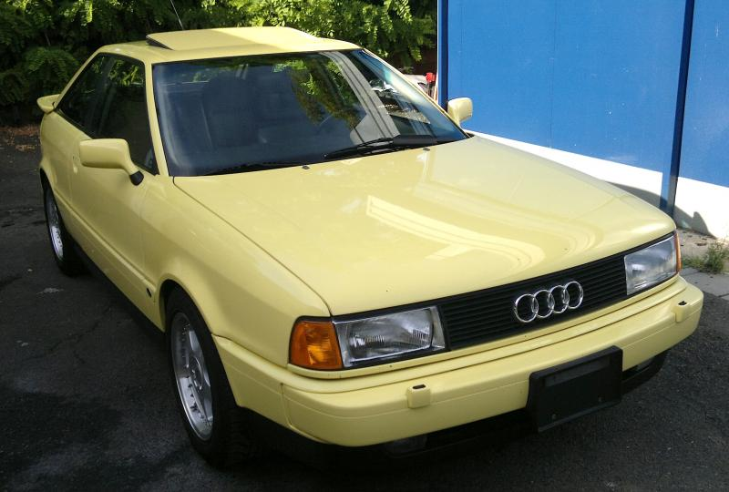1990 audi coupe quattro 20v german cars for sale blog. Black Bedroom Furniture Sets. Home Design Ideas