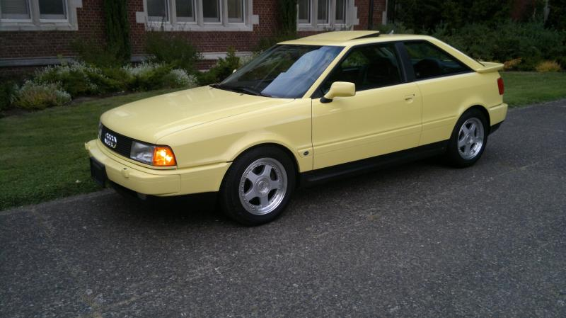 1990 Audi Coupe Quattro 20v German Cars For Sale Blog