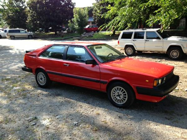 1983 Audi Coupe Gt German Cars For Sale Blog