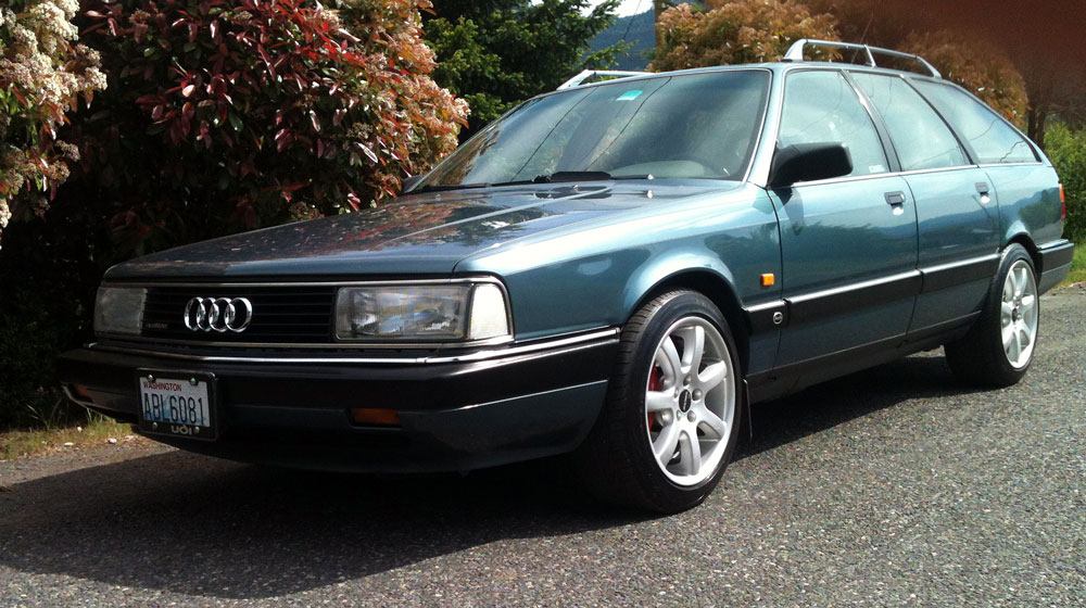 1991 Audi 200 20V Turbo Quattro Avant - REVISIT | German Cars For Sale Blog