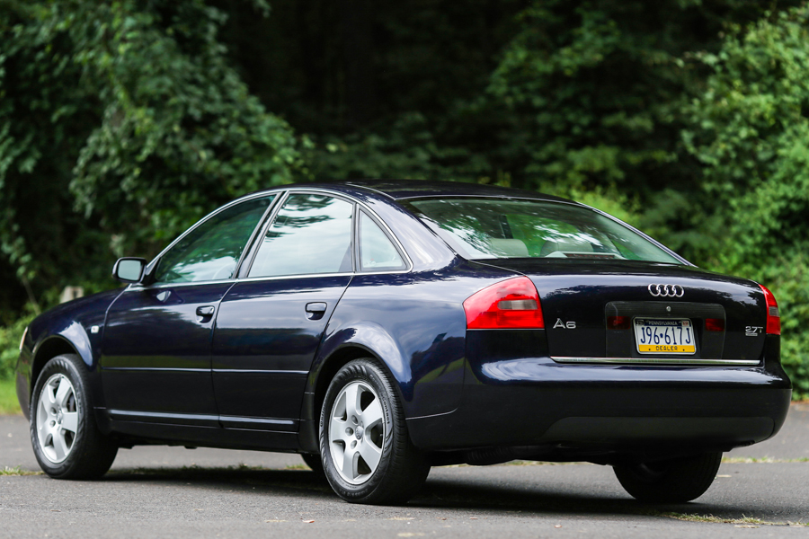 2001 Audi A6 27t Quattro German Cars For Sale Blog