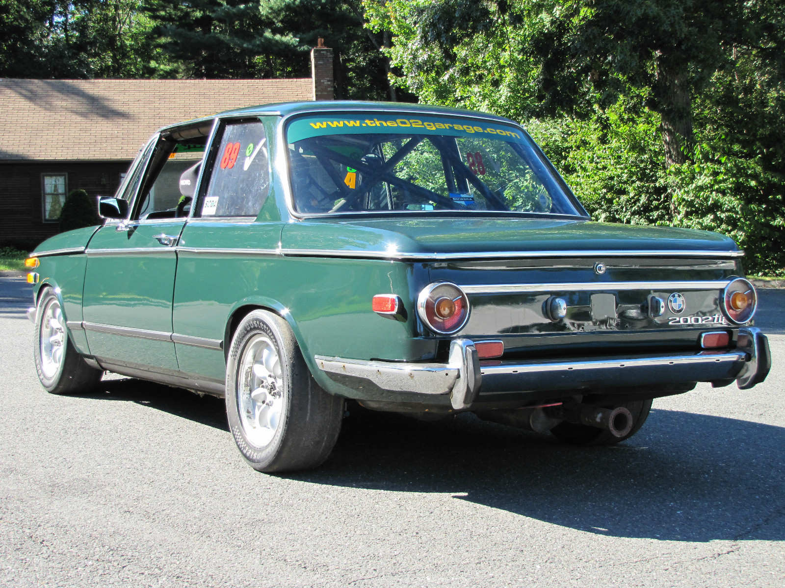 Motorsport Monday Part II: 1972 BMW 2002tii Track Car