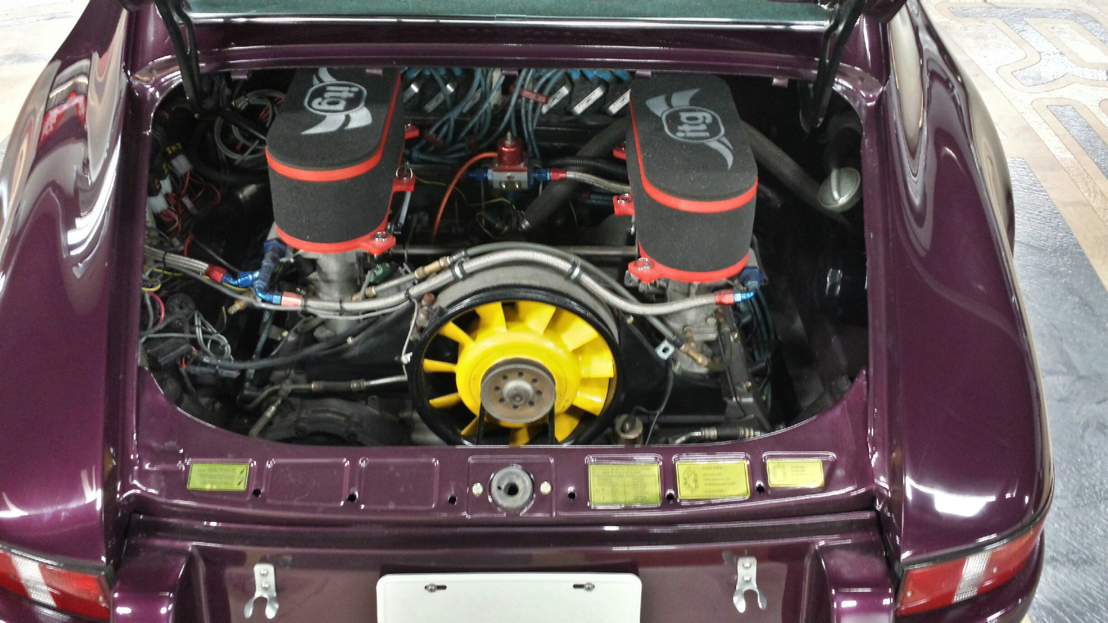1977 Porsche 911 73 Rs Replica German Cars For Sale Blog Wiring Harness 1973 Model Engine 30 Liter Flat 6 Transmission 5 Speed Manual Mileage 79000 Mi Price Reserve Auction