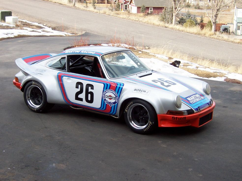 Motorsport Monday: 1971 Porsche 911 RSR Martini Racing