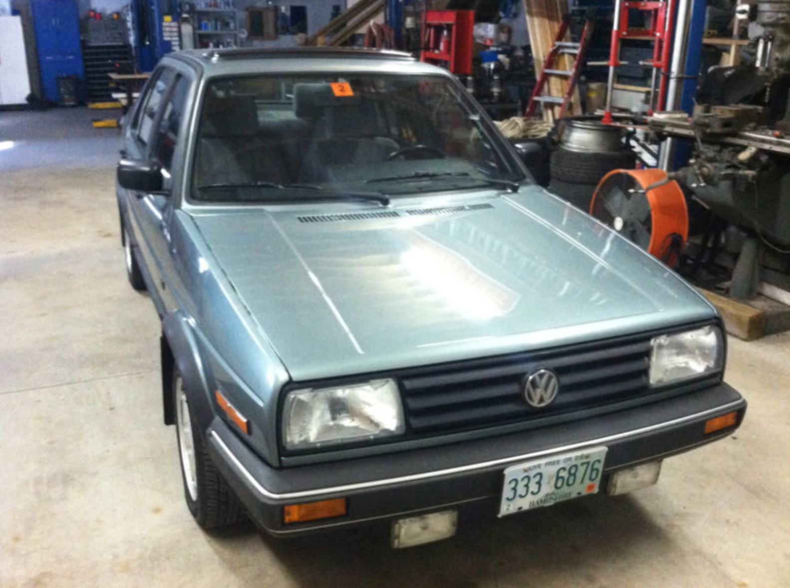 1989 Volkswagen Jetta Carat with 34k miles | German Cars For Sale Blog