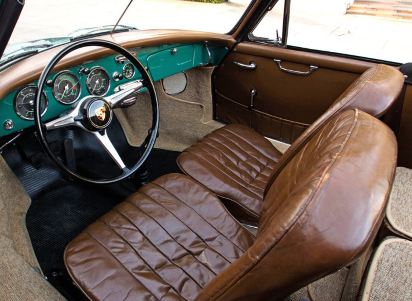 1962 Porsche 356b Super Cabriolet German Cars For Sale Blog