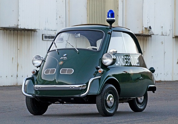 Double Take 1957 Bmw Isetta 300 Coupe And Convertible