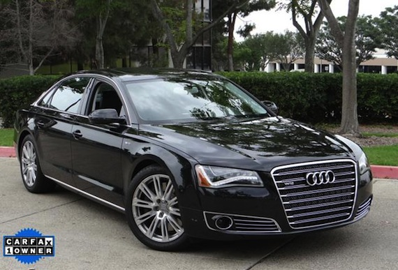 Audi A8 W12 >> 2012 Audi A8l W12 German Cars For Sale Blog