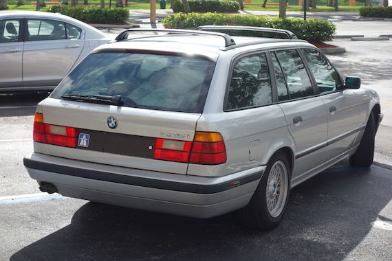 E39 M5 Wagon For Sale >> 1993 BMW 525iT | German Cars For Sale Blog