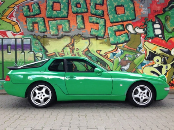 Eye Popping Porsche 968 And 968CS For Sale In Germany