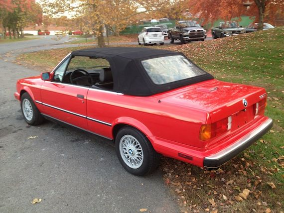 Click For Details 1990 Bmw 325i Convertible On Ebay