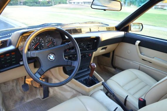 Image result for bmw 633csi dashboard