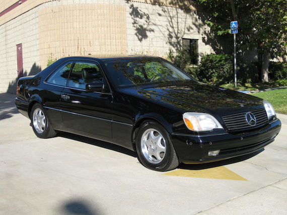 1998 mercedes-benz cl600 | german cars for sale blog
