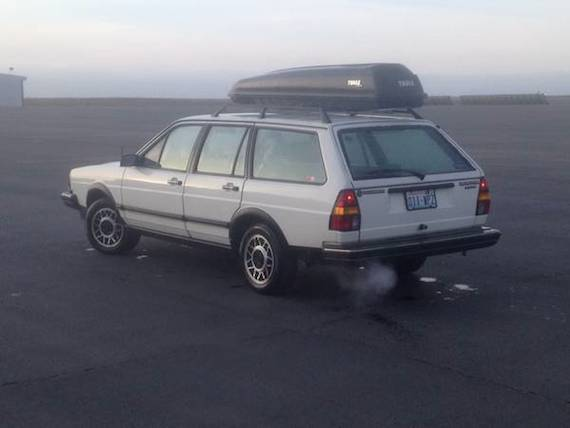 1985 Volkswagen Quantum Syncro Wagon | German Cars For Sale Blog