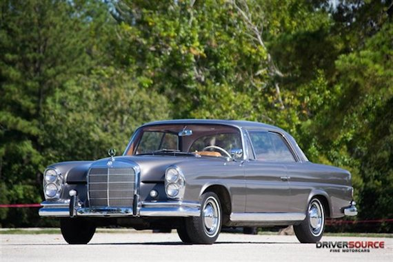 1963 Mercedes Benz 220se Coupe German Cars For Sale Blog