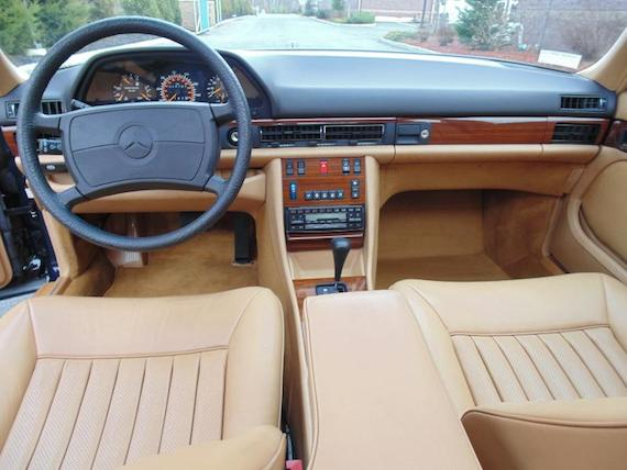 1988 Mercedes Benz 300SEL With 14k Miles German Cars For