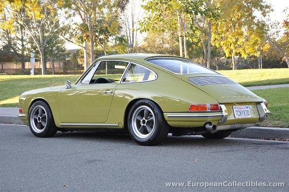 1967 Porsche 911 Sunroof Coupe German Cars For Sale Blog