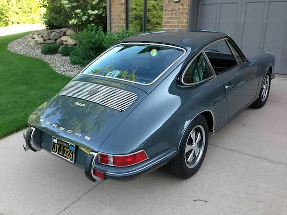 1970 Porsche 911t German Cars For Sale Blog