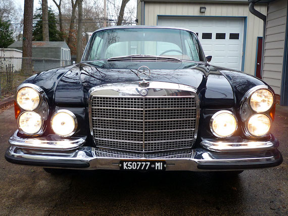 1970 Mercedes Benz 280se 3 5 Coupe 4 Speed Manual German