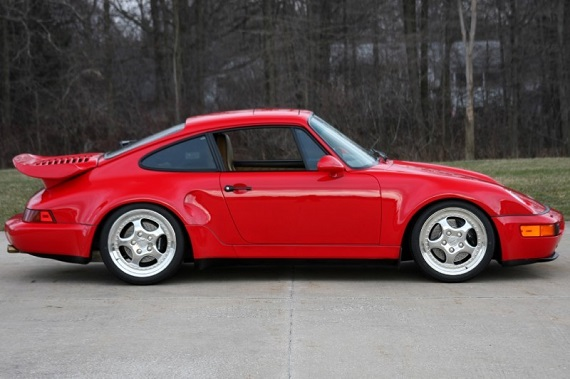 Upon Initial Release Of The 964 Turbo Porsche Had Yet To Fully Develop A Turbocharged Version S Standard 3 6 Liter Flat Six And Thus Chose