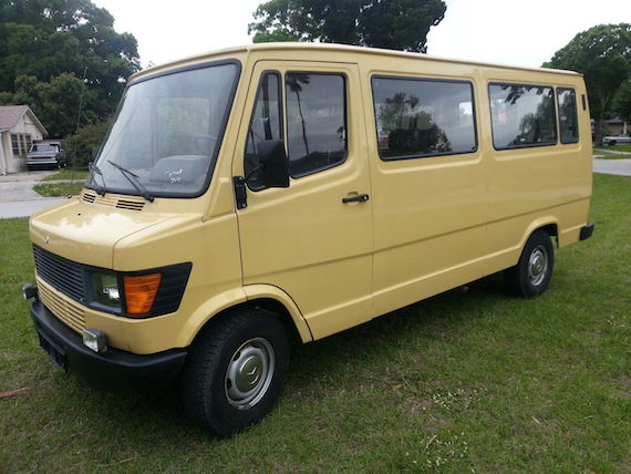 Porsches For Sale >> 1983 Mercedes-Benz 309D Van | German Cars For Sale Blog