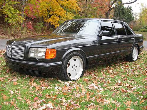 Tuner Tuesday 1990 Mercedes Benz 560sel Amg 60 German Cars For