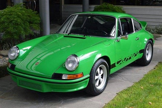 1973 Porsche 911 Carrera Rs German Cars For Sale Blog