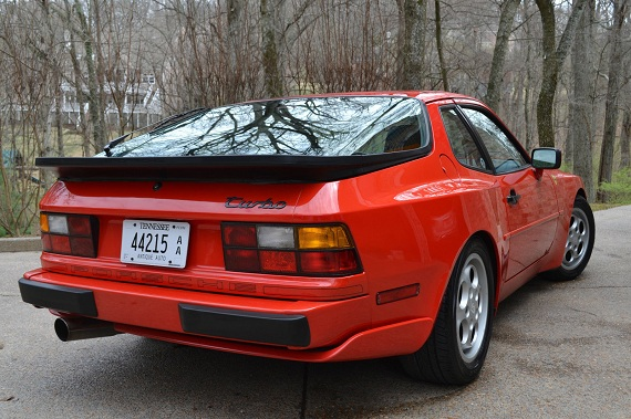 Double Take 1986 And 1987 Porsche 944 Turbos German Cars For Sale Blog