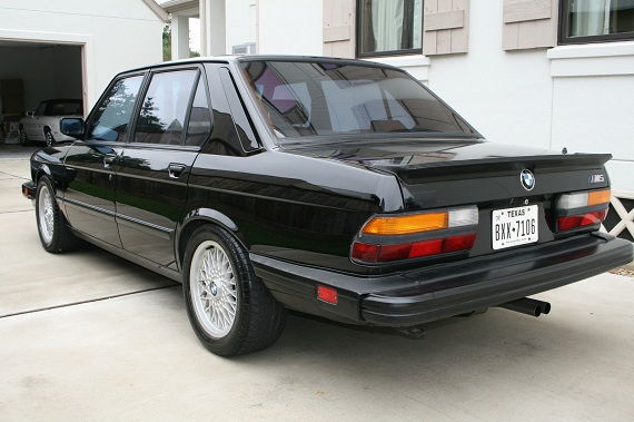 BMW M5 Double Take New V Old 2001 Or 1988