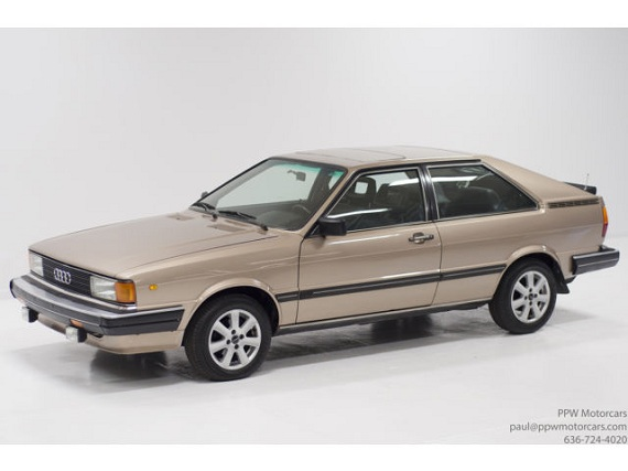 1982 Audi Coupe Gt With 57 000 Miles German Cars For