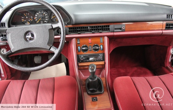 1986 mercedes benz 260se 5 speed manual german cars for sale blog rh germancarsforsaleblog com mercedes w124 manual conversion mercedes w126 manual gearbox review