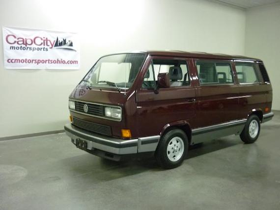 b5cec1d5085a9b 1991 Volkswagen Vanagon Carat Weekender – German Cars For Sale Blog