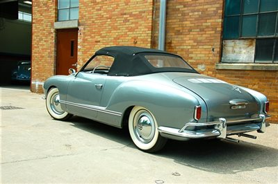 1958 Volkswagen Karmann Ghia Convertible German Cars For