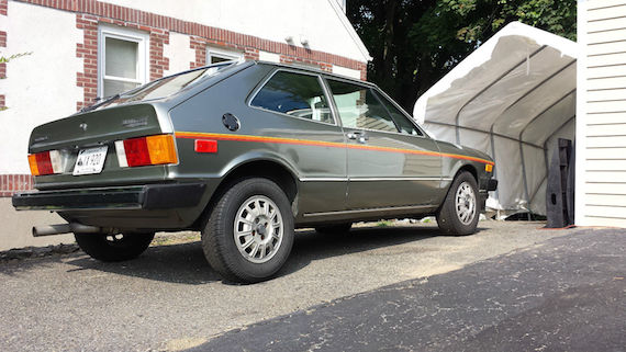 1977 Volkswagen Scirocco Champagne Edition | German Cars For Sale Blog